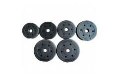 Диск пластиковый/цемент чёрный  (d 26 мм.)   1,25 кг.
