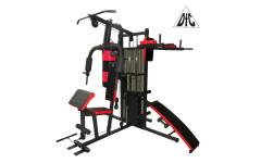 Силовой комплекс, брусья, скамья для пресса, бокс.мешок DFC D7005 (4 короба + 2 груза)