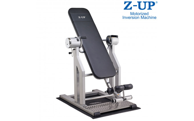 Инверсионный стол Z-Up 5, 220b, Корея, серебряная рама, черная спинка