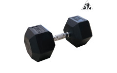 Гантели DFC гексагональные обрезиненные 30 кг. (пара) DB001-30