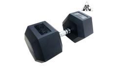 Гантели DFC гексагональные обрезиненные 45 кг. (пара) DB001-45