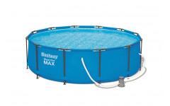 Бассейн Steel Pro Max, 366х100см, 9,150л., насос фильтр, лестн. 56418