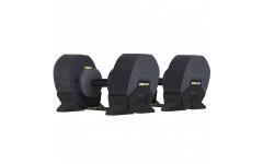 Гантели наборные MX Select MX-85, вес 5.6-38.6 кг, 2 шт без стойки