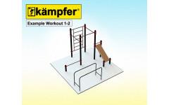 Воркаут площадка Kampfer Example Workout 1-2