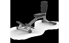 Скамья-стул MATRIX MAGNUM A87 (серебристый)