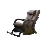 Массажное кресло глайдер EGO BRAVO EG2005 Шоколад с маятниковым механизмом раскачивания