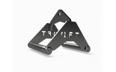 Рукоятка для тяги к животу металлическая узкий параллельный хват